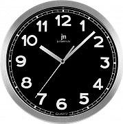 LOWELL 14928 N Orologio da Parete ø 30 cm Movimento al Quarzo Quadrante Nero