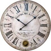 LOWELL 21405 Orologio da Parete ø 47.5 cm Estetica Vintage Numeri Romani 21507