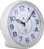 LOWELL JA7042-B Orologio Sveglia Analogica Funzione Snooze Bianco