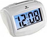 LOWELL JD9015-B Orologio Sveglia Digitale al Quarzo Funzione Snooze Bianco - JD9015