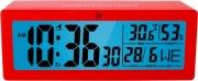 LOWELL JD9034R Orologio sveglia digitale Funzione Snooze Rosso