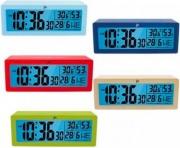 LOWELL JD9034-CF AZZURRO Sveglia digitale Snooze  Calendario Temperatura Interna Azzurro JD9034