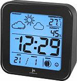 LOWELL JD9512-N Stazione Meteo Igrometro Termometro Orologio Sveglia Snooze