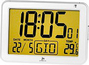 LOWELL Sveglia digitale Temperatura interna Funzione Snooze Calendario JD9513-B