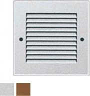 La Ventilazione GAL10R-Y Griglia Alluminio 140x140 Naturale Rete