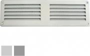 La Ventilazione GL206RG-Y Griglia Lamiera 200x 60 Rete grigio