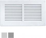 La Ventilazione GL20RB-Y Griglia Lamiera 240x140 Rete Bianca