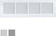 La Ventilazione GL4014RG-Y Griglia Lamiera 440x140 Rete grigio