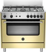 La Germania AMN965GCRV Cucina a gas con forno a gas ventilato 5 Fuochi 90x60 cm
