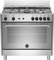 La Germania AMN965GXV Cucina a Gas 5 Fuochi Forno a Gas Grill 90x60 cm Inox
