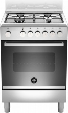 La Germania FTR664EXV Cucina a Gas con forno elettrico 60x60 4 Fuochi Inox