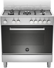La Germania FTR855EXV Cucina a Gas 5 Fuochi Forno Elettrico 80x50 cm Inox