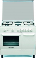 La Germania SP94241W Cucina a Gas 6 Fuochi Forno Elettrico 90x60 cm Bianco SP94 2 41 W