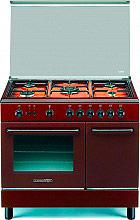 La Germania SP95 C 21 C Cucina a Gas 5 Fuochi Forno Gas 90x60 cm Marrone