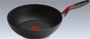 LAGOSTINA 10248041828 Padella Antiaderente Wok Diametro 28 cm -  Linea Rossa