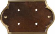Lartistica PORTANUMERI Placca  Ottone Bonzato P1 153x120