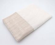 Laura Biagiotti AD0677-3 Set Asciugamani Bagno 1+1 in Spugna di Cotone colore Ecrù AD0677