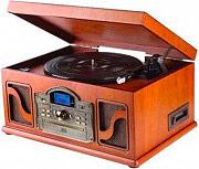Lauson CL146 Giradischi USB velocità 334578 rpm Vintage colore Legno