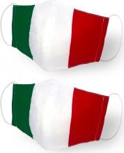 Lavatelli 1251 Mascherina Protettiva NO DPI Lavabile 2pz fant. Tricolore  Italia