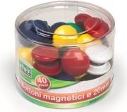 Lebez 2140 Confezione 40 barattolo Magnetici Ass 20Mm