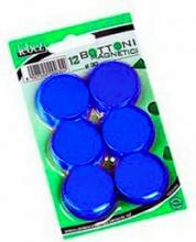 Lebez MR-30-B Confezione 6 Blister 12 Magneti Dia30 Mm