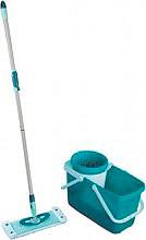 Leifheit 52014 Mop Pavimenti Secchio 20 Litri e Strizzatore -  Clean Twist System