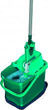 Leifheit 55356 Secchio Strizzatore a pressa Mop Microfibra  Set Combi Clean Twist