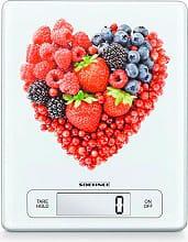 Soehnle 66311 Bilancia da Cucina Digitale Portata 15 Kg FRUIT HEART