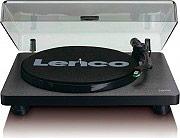 Lenco LS-30 BLK Giradischi Trazione a Cinghia 3345 giri Uscite RCA + USB Nero L-30