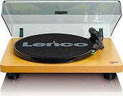 Lenco LS-30 WOOD Giradischi 33  45 giri a Cinghia USB RCA Materiale Legno L-30 WOOD