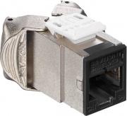 Leviton 6ASJK-RE6 Presa Modulo Ethernet RJ 45 Nero