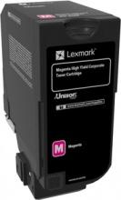Lexmark 84C2HME Toner Originale Laser colore Magenta