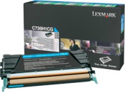 Lexmark C736H1CG Toner Originale Laser colore Ciano per modello C736