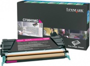Lexmark C736H1MG Toner Originale Laser colore magenta