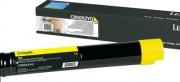 Lexmark C950X2YG Toner Stampante Giallo Originale Cartuccia