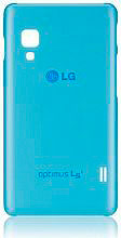 Lg Cover Custodia per Optimus L5 II colore Blu - CCH-210AGEUBL