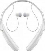 Lg Cuffie Stereo Auricolari Bluetooth Tasto Risposta Volume Tone Pro HBS-750 WH