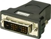 LINDY 41228 Adattatore HDMI DVI-D colore Nero