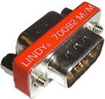 LINDY 70092-LND Adattatore VGAVGA Maschio Maschio 15-pin HD Mini Gender Changer 70092