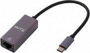 Lmp Adattatore da USB type c a Gigabit Ethernet colore Argento 15995