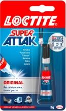 Loctite 2048080 Adesivo istantaneo universale Super Attak 3 gr  Original