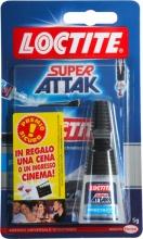 Loctite 2395841 Adesivo istantaneo universale Super Attak 5 gr  Precision