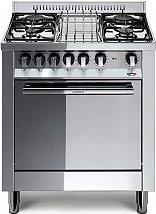 Lofra M75GV Cucina a Gas 4 Fuochi Forno a Gas Ventilato 70x50 cm Inox