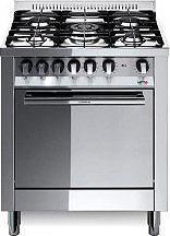 Lofra M76GVC Cucina a Gas 5 Fuochi con Forno a Gas Ventilato 70x60 cm Inox