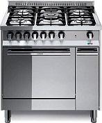 Lofra MT86MFC Cucina a Gas 5 Fuochi con Forno Elettrico Ventilato 80x60 cm Inox