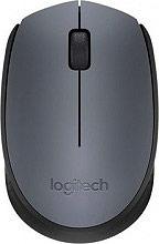 Logitech 910-004642 Mouse wireless senza fili ottico 2 Tasti USB Grigio M170