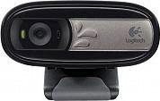 Logitech WebCam Web Cam 5 Mpx 640x480px Fotocamera Clip Nero C170 960-001066