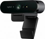 Logitech 960-001106 Webcam PC USB 2.0 4K 2160p Fotocamera Microfono 5x  Brio