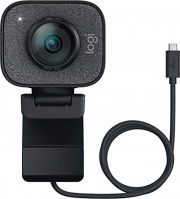 Logitech 960-001281 Webcam con Microfono 1080 px USB Grafite  StreamCam