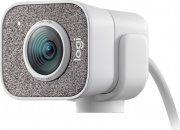 Logitech 960-001297 Webcam con Microfono 1080 px USB Bianco  StreamCam